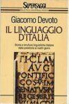 Storia e strutture linguistiche italiane dalla preistoria ai nostri giorni